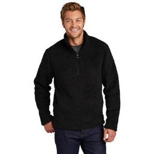 Port Authority® Men's Cozy 1/4-Zip Fleece Sweater