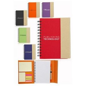 Two Tone Eco Friendly Notebooks