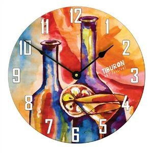 11.4 inch Full Color Round Large Wall Clock